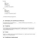 Auszug Aufhebungsvertrag Ausbildung
