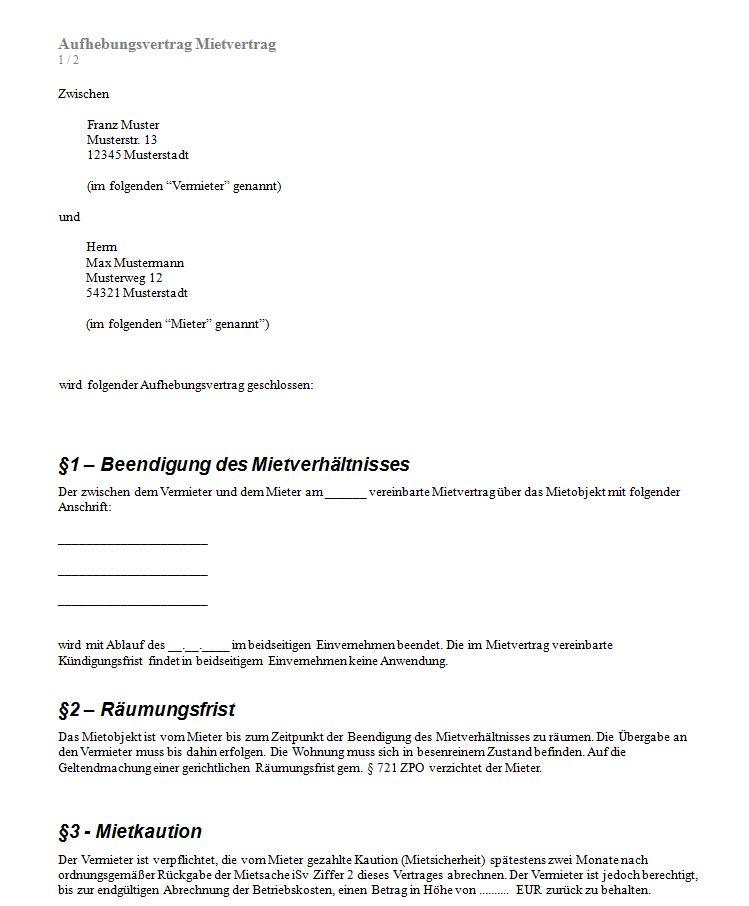 Mietvertrag Kã¼ndigen Formular Seotoolnetcom Pdf Free Download